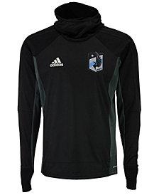 adidas Men's Minnesota United FC Warm Top Hoodie