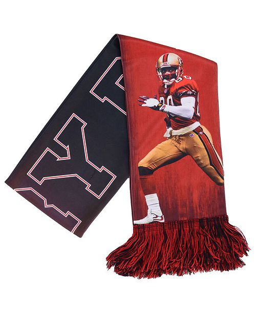 Forever Collectibles Jerry Rice San Francisco 49ers Sublimated Player Scarf