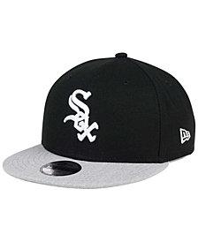 New Era Boys' Chicago White Sox Heather Vize 9FIFTY Snapback Cap