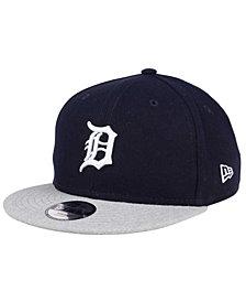 New Era Boys' Detroit Tigers Heather Vize 9FIFTY Snapback Cap