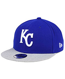 New Era Boys' Kansas City Royals Heather Vize 9FIFTY Snapback Cap