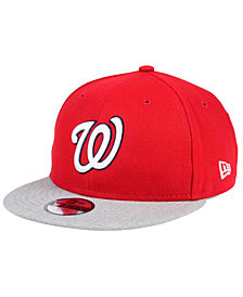 New Era Boys' Washington Nationals Heather Vize 9FIFTY Snapback Cap