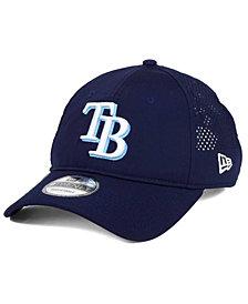 New Era Tampa Bay Rays Perf Pivot 2 9TWENTY Adjustable Cap