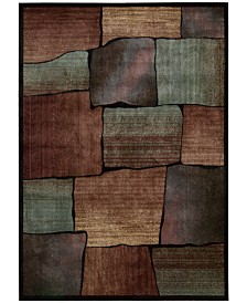 """CLOSEOUT! Nourison Area Rug,  Expressions XP05 Multi  2'3"""" x 8' Runner Rug"""