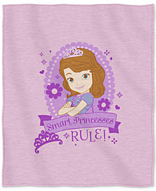 "Disney Sofia the First ""In Training"" 50"" x 60"" Sweatshirt Throw"