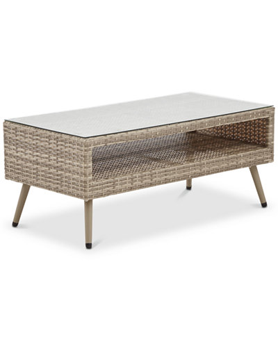 Avery Outdoor Coffee Table, Quick Ship