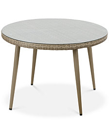Avery Outdoor Round Table, Quick Ship