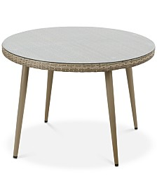 Bauer Outdoor Round Table, Quick Ship