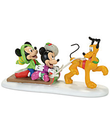 Department 56 Disney Village Pluto's Toboggan Ride