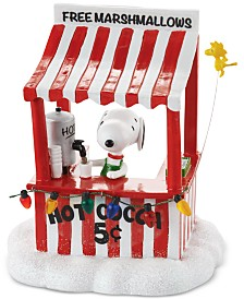 Department 56 Peanuts Village Snoopy's Cocoa Stand