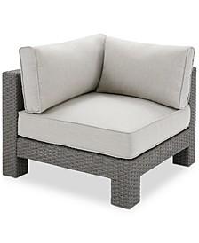 Lani Outdoor Corner Chair, Quick Ship