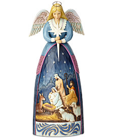 Jim Shore Nativity Angel Statue Figurine