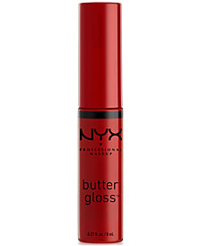 NYX Professional Makeup Butter Lip Gloss. 0.27 fl oz