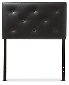 Baltimore Faux Leather Twin Headboard, Quick Ship