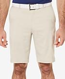 PGA TOUR Mens Flat-Front Shorts