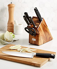 Grand Prix II 7-Piece Knife Block Set, Acacia