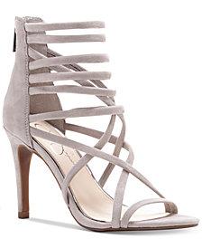 Jessica Simpson Harmoni Tubular Strappy Dress Heels