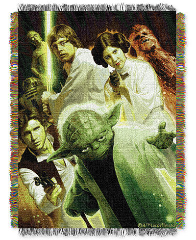 Star Wars Small Rebel Force Throw by Disney