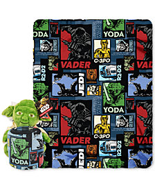 "Star Wars ""Yoda Story"" Hugger Pillow & Throw Set by Disney"