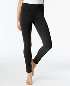 INC Pull-On Ponte Skinny Pants, Created for Macy's