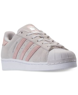 adidas Big Girls' Superstar Casual Sneakers