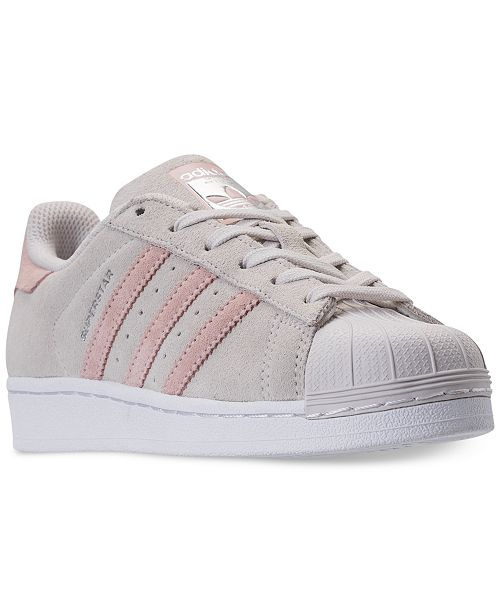 dd9e26557 adidas Big Girls  Superstar Casual Sneakers from Finish Line ...