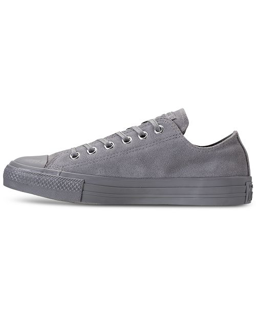 21e6d6860e69 ... Converse Women s Chuck Taylor Plush Suede Ox Casual Sneakers from  Finish ...