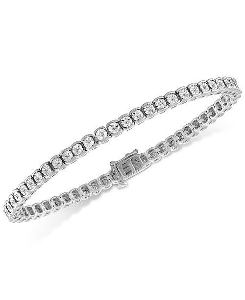 Macy S Diamond Illusion Tennis Bracelet