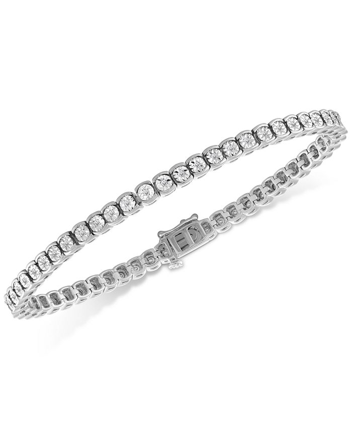 Macy's - Diamond Illusion Tennis Bracelet (1/2 ct. t.w.)