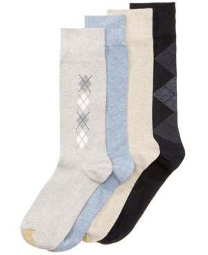 4-Pack Argyle Dress Socks...