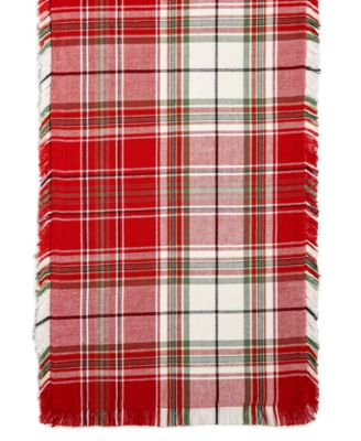 Holland Plaid Table Runner, Created for Macy's