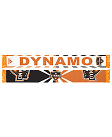 adidas Houston Dynamo Jacquard Wordmark Scarf