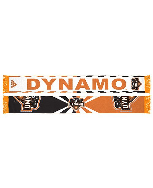 adidas Houston Dynamo Jacquard Wordmark Scarf