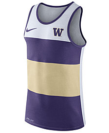 Nike Men's Washington Huskies Team Stripe Tank