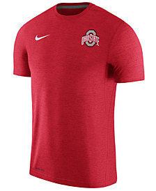 Nike Men's Ohio State Buckeyes Dri-Fit Touch T-Shirt