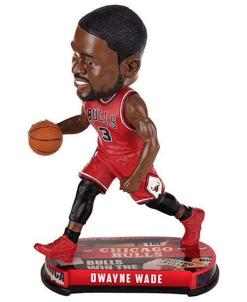 2007b1659c3b ... Forever Collectibles Dwyane Wade Chicago Bulls Headline Bobblehead ...