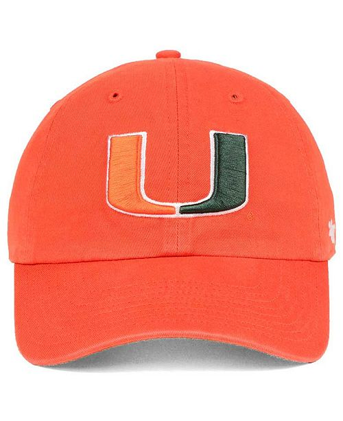 '47 Brand Miami Hurricanes CLEAN UP Cap & Reviews
