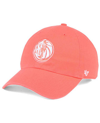 the latest a5c91 9c60c  47 Brand Dallas Mavericks Pastel Rush CLEAN UP Cap   Reviews - Sports Fan  Shop By Lids - Men - Macy s