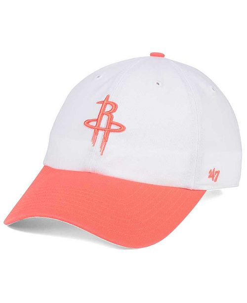 '47 Brand Houston Rockets Pastel Rush CLEAN UP Cap