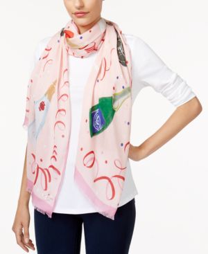 champagne oblong scarf