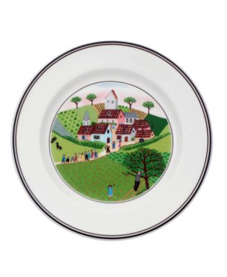 Dinnerware, Design Naif Bread and Butter Plate Wedding Procession