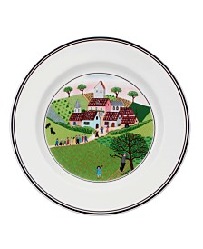 Villeroy & Boch Dinnerware, Design Naif Bread and Butter Plate Wedding Procession