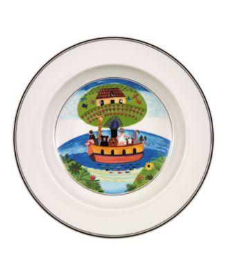 Dinnerware, Design Naif Rim Soup Bowl Noah's Ark