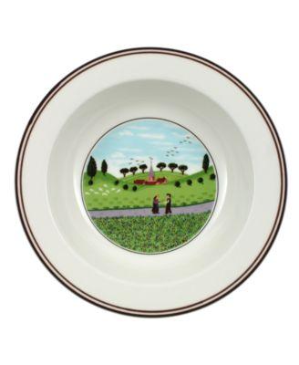Dinnerware, Design Naif Rim Cereal Bowl Friends Meeting