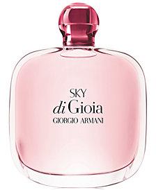 Giorgio Armani Sky di Gioia Eau de Parfum Spray, 3.4 oz.