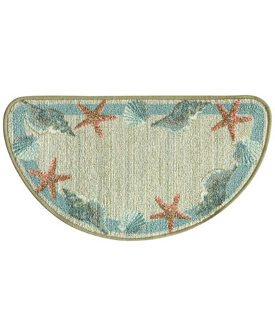 Bacova Berber Star Shell Border Berber Accent Rug Collection