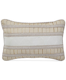 "Croscill Kassandra 18"" x 12"" Boudoir Decorative Pillow"