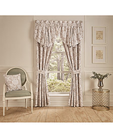 "Croscill Nellie Cotton 42"" x 24"" Window Valance"