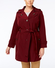 Plus Size Coats - Macy\'s