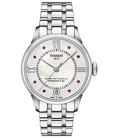 Women's Swiss Automatic Chemin De Tourelle Stainless Steel Bracelet Watch 32mm